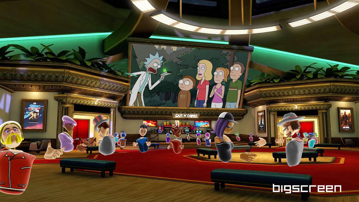 Lobby v2 by VR-Robotica
