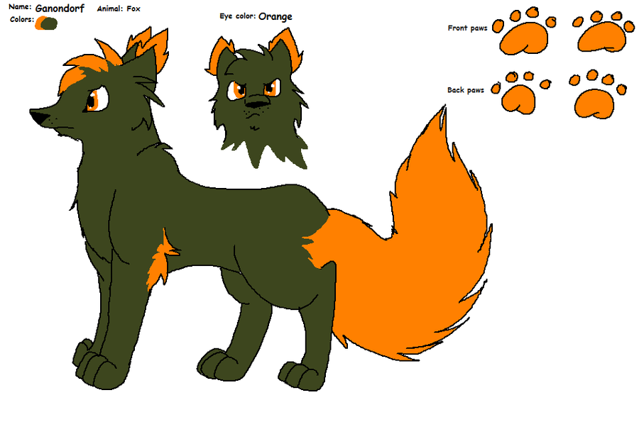 Ganondorf Fox ref. by Obsidianthewolf