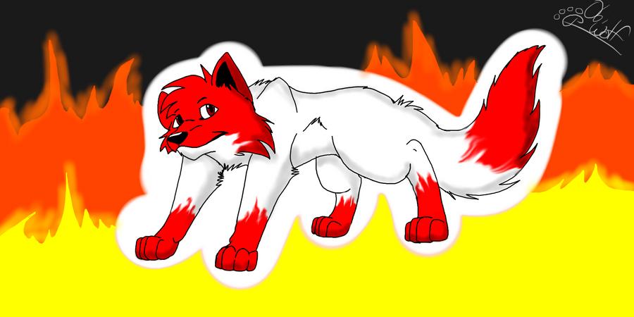 Obsidian the wolf by Obsidianthewolf