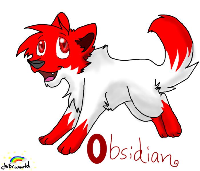 Chibiworld: Obsidian by Obsidianthewolf