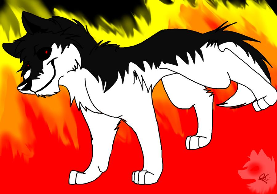 Let it all burn... by Obsidianthewolf