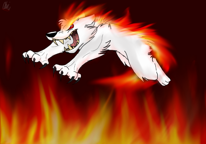 Rage like a wild fire! by Obsidianthewolf
