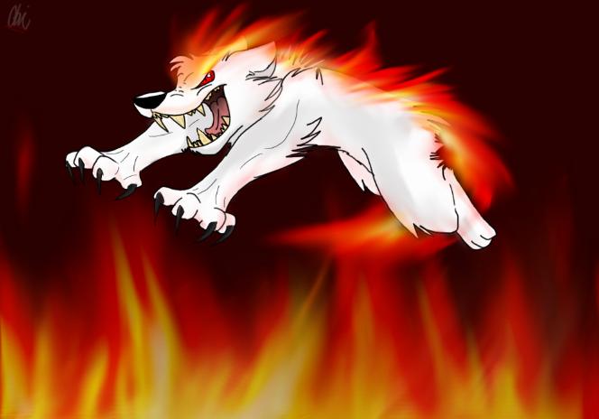 Rage like a wild fire! by Obsidianthewolf