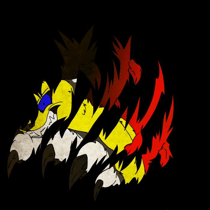 Through my burning rage by Obsidianthewolf