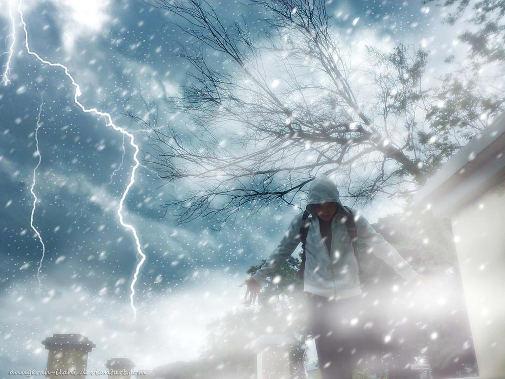 The Snow Storm by anugerah-ilahi