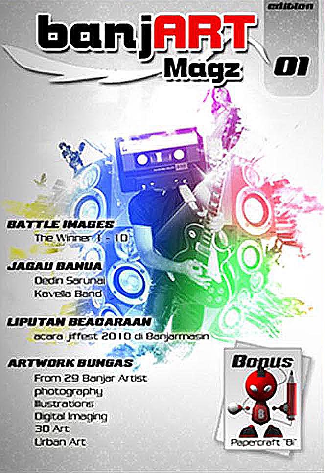 Banjart Magz Issue 01 by anugerah-ilahi