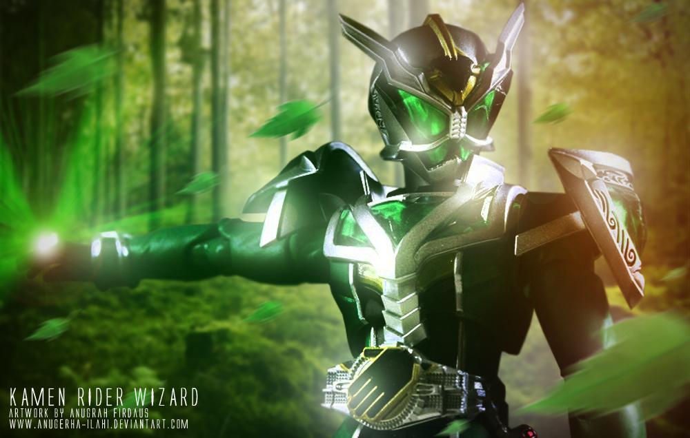 Kamen Rider Wizard : Hurricane Dragon Style by anugerah-ilahi