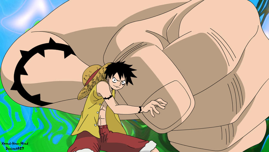 Luffy - Gear Third by Xpand-Your-Mind on DeviantArt