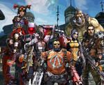 Borderlands 2 - Vault Hunters