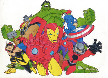 Earth's Mightiest Heros