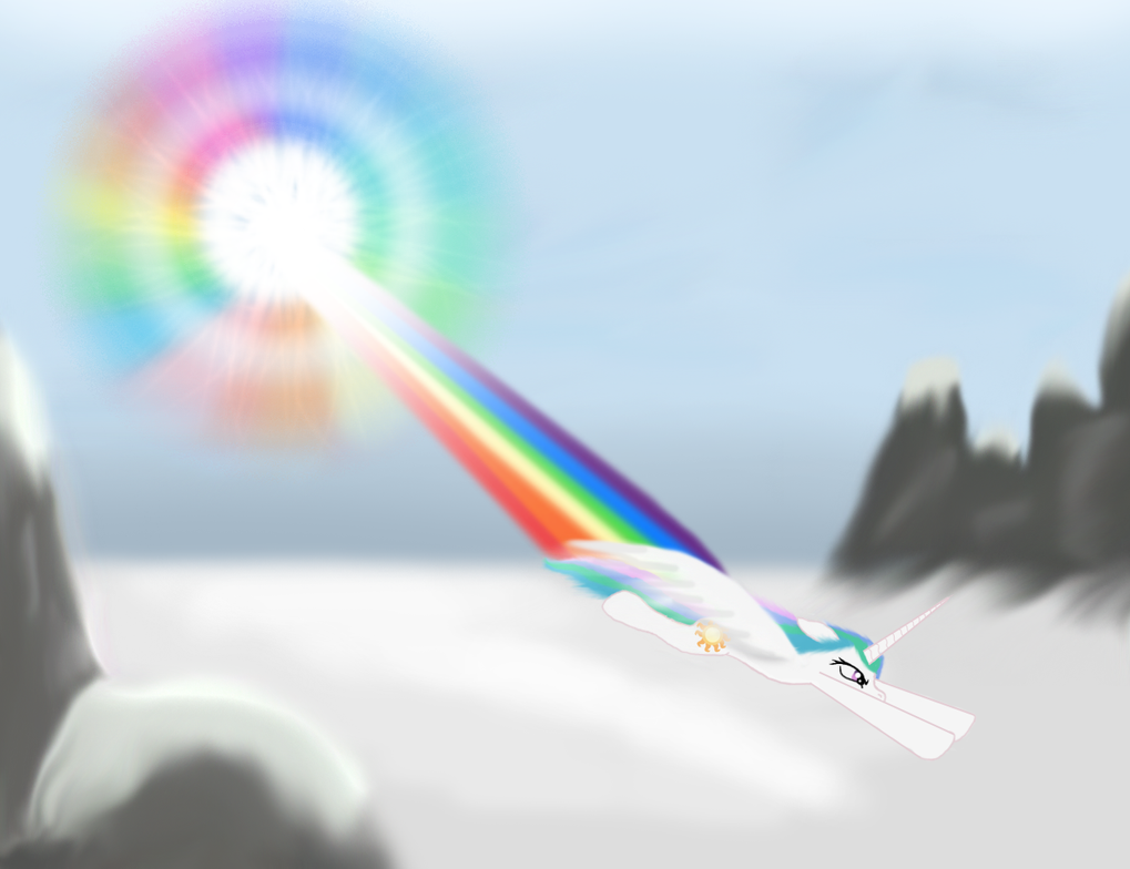 The First Sonic Rainboom by Keta97