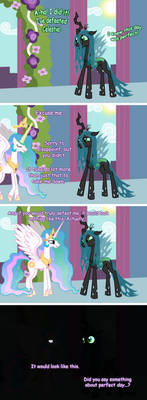 One does not simply beat Celestia