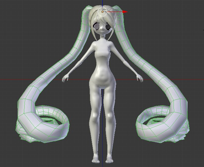 |Yami Rose 3D model [WIP]| by InfernoZtorm