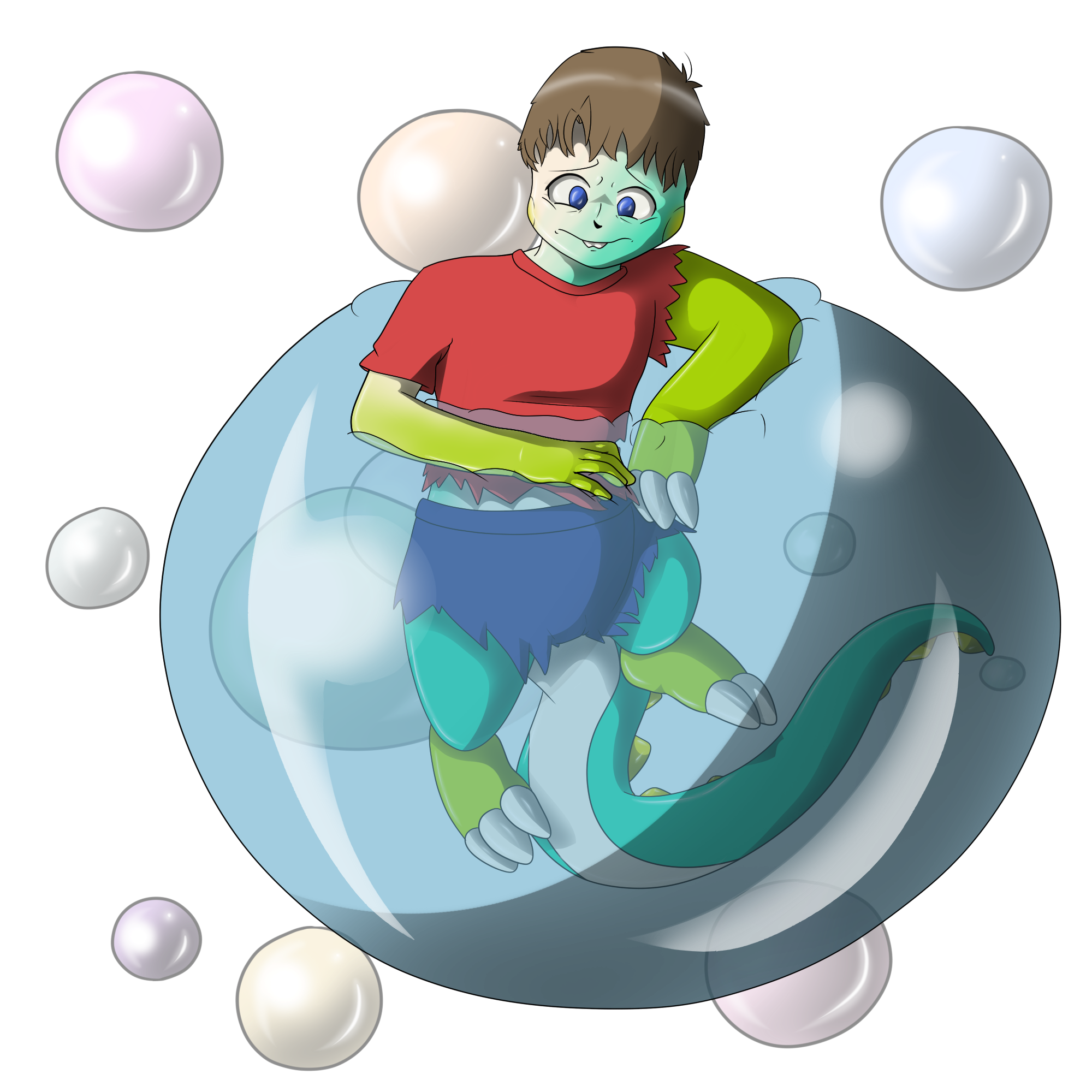 .:REQUEST:. Human to Bubble Dragon (TF) by Kendulun-the-Kihoryu