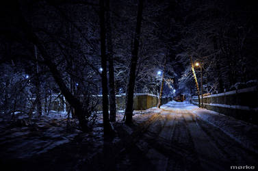cold night by MorkePhotography