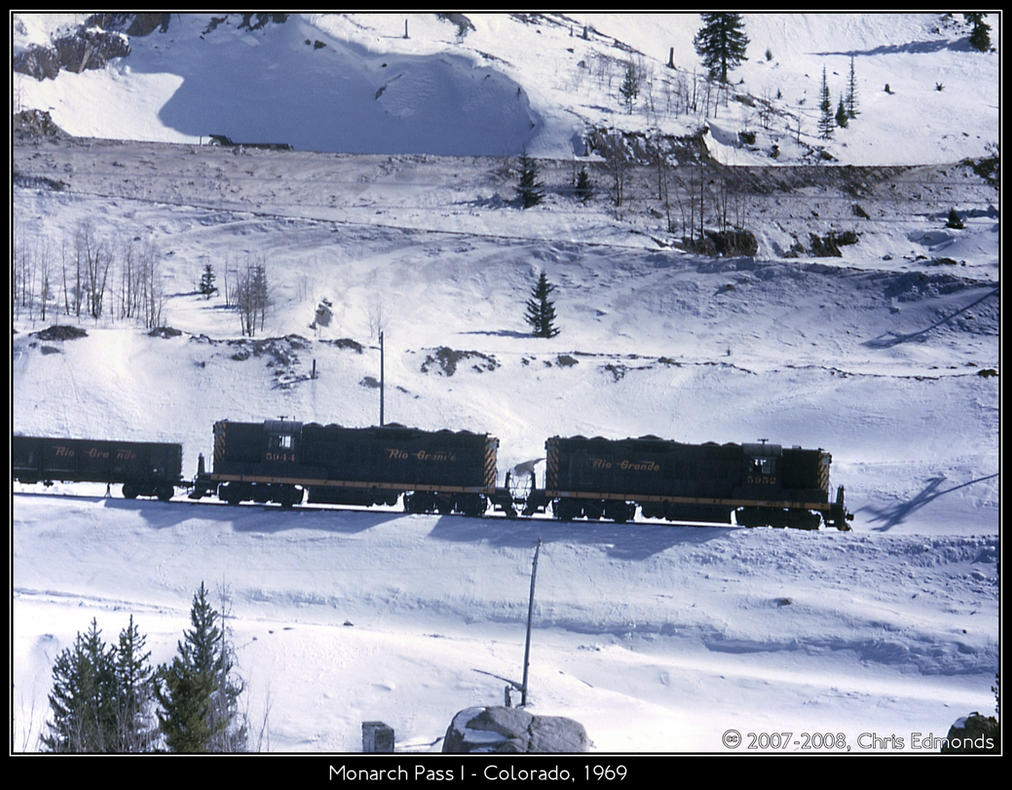 Monarch Pass I by classictrains