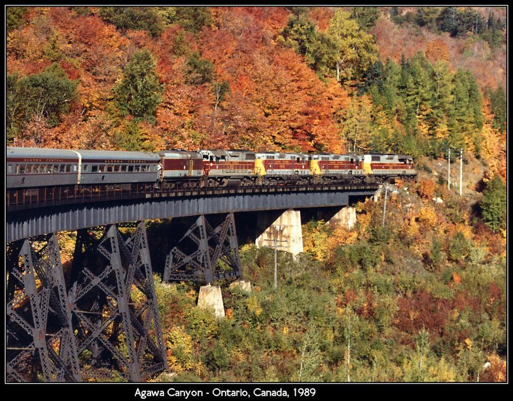 Agawa Canyon Tour Train Route
