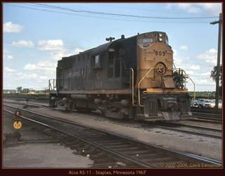 Alco RS-11 by classictrains