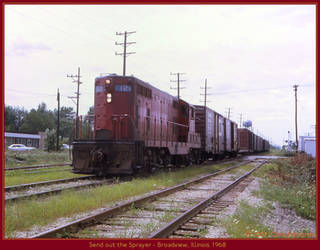 Send out the Sprayer by classictrains
