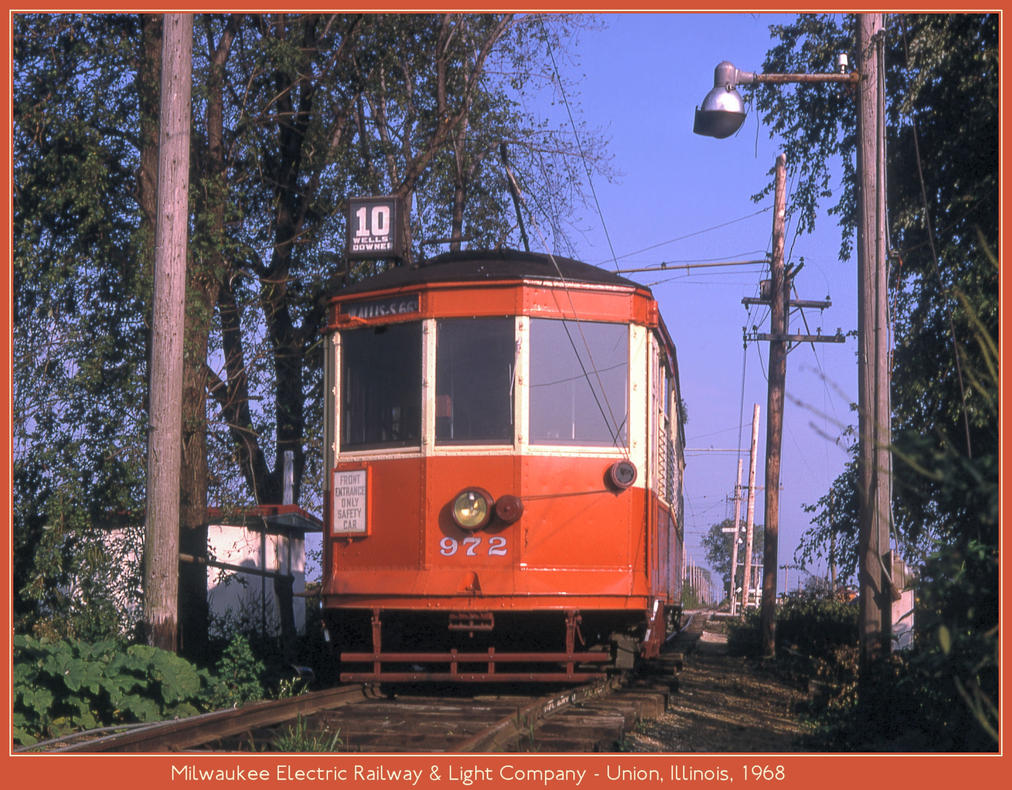Milwaukee Electric Railway by classictrains