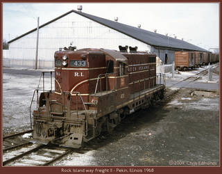 Rock Island way freight II by classictrains