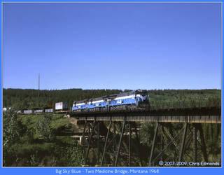 Big Sky Blue by classictrains