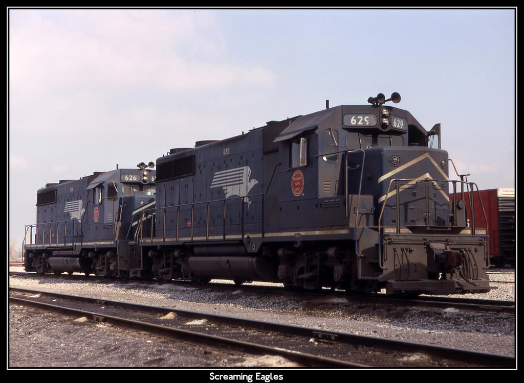 Screaming Eagles by classictrains