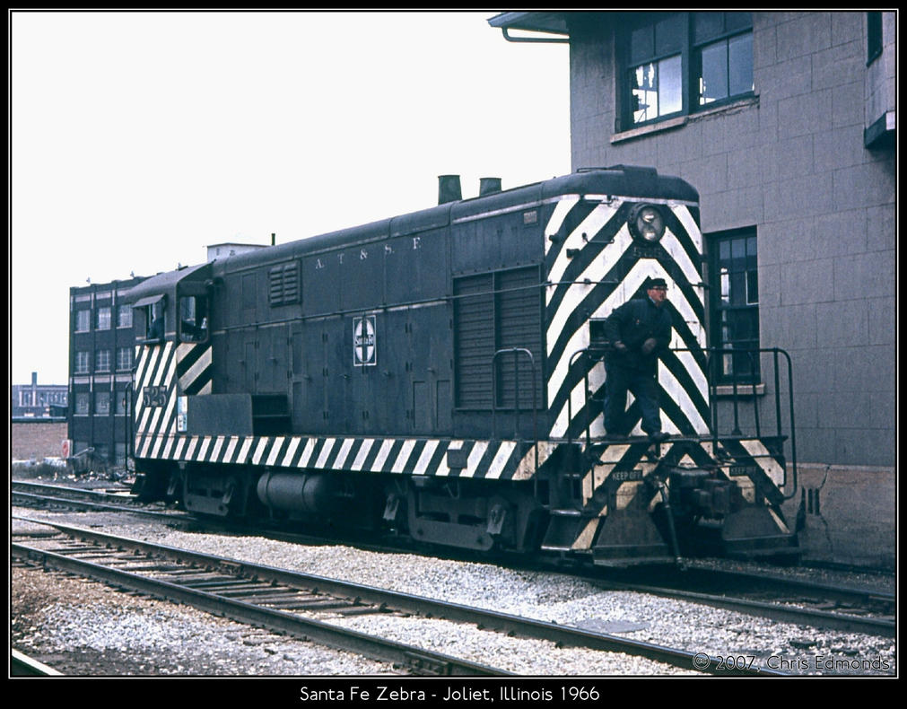 Santa Fe Zebra by classictrains