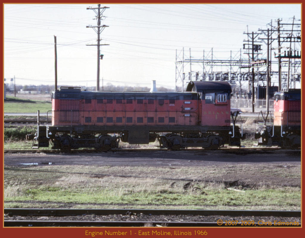Engine Number 1 by classictrains