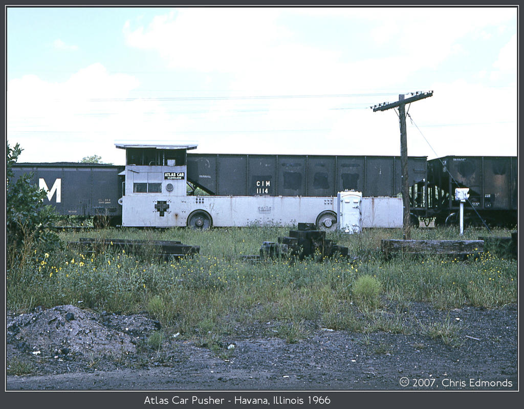 Atlas Car Pusher by classictrains