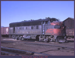 Red Face F-unit by classictrains