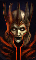 Eredin Breacc Glas - King of the Wild Hunt by Mephistopheies