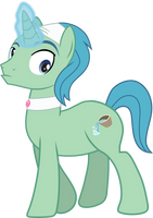MLP Vector: Stallion Towel Spa Pony by OutlawQuadrant