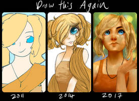 Draw this Again: Aranka by Basseless
