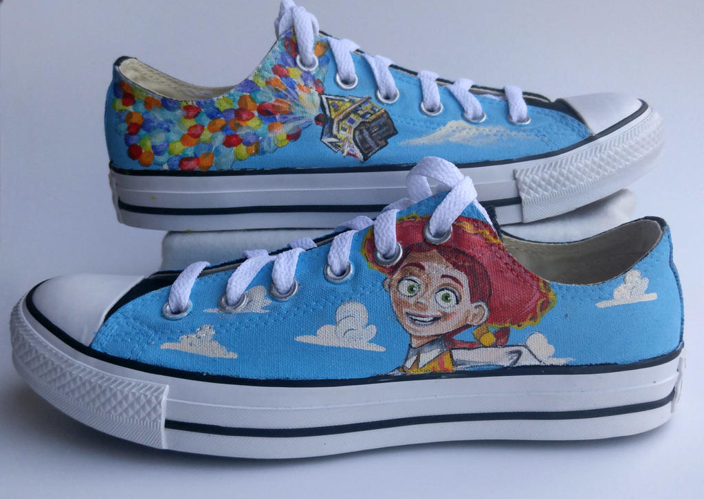 Up And Toy Story Shoes By Manaartcrafts On Deviantart
