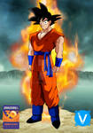 Goku Aniversary 30th