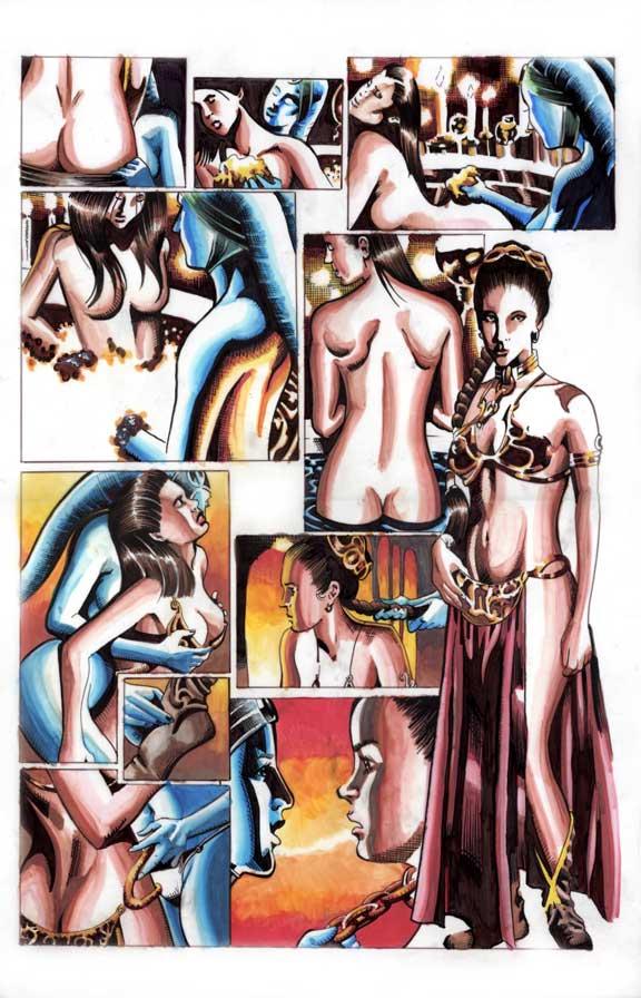 Pics of princess leia sex