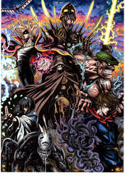 Ghibli's The Avengers by T-A-K-U-M-I-28