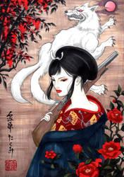 lady eboshi by T-A-K-U-M-I-28