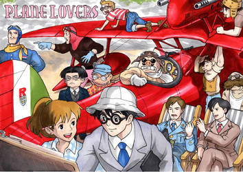 Plane Lover's by T-A-K-U-M-I-28