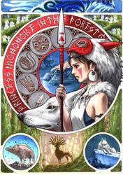 Princess Mononoke by T-A-K-U-M-I-28