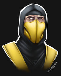 Scorpion - test painting by Bemannen02