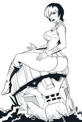 TEMPUS - Line art by Bemannen02