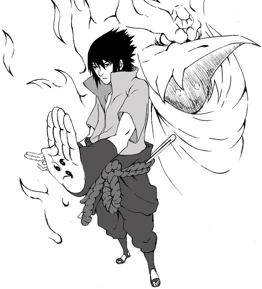 Blood Link Manga Chapter 8: Sasuke Uchiha, Susanoo By Yokisei On DeviantArt