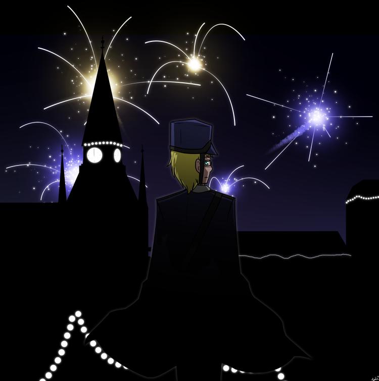 Stockholm Fireworks by lugiamew1