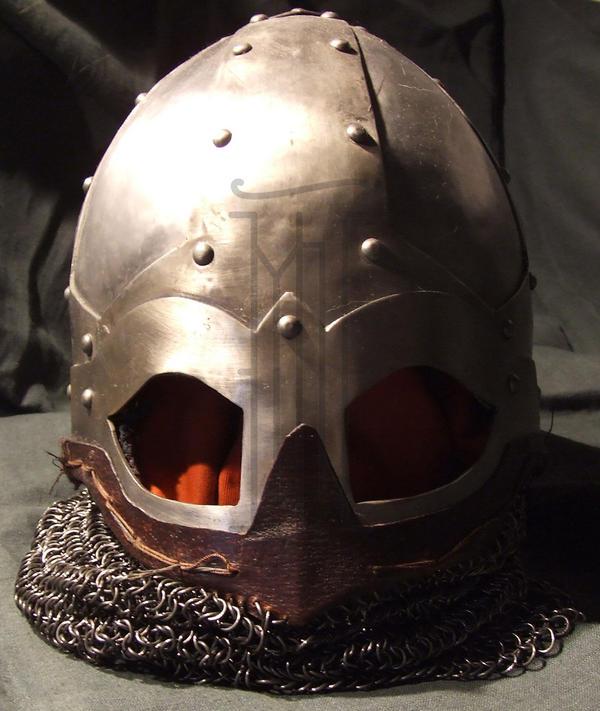 My 1st helm 1.1 by Belgradearmourer