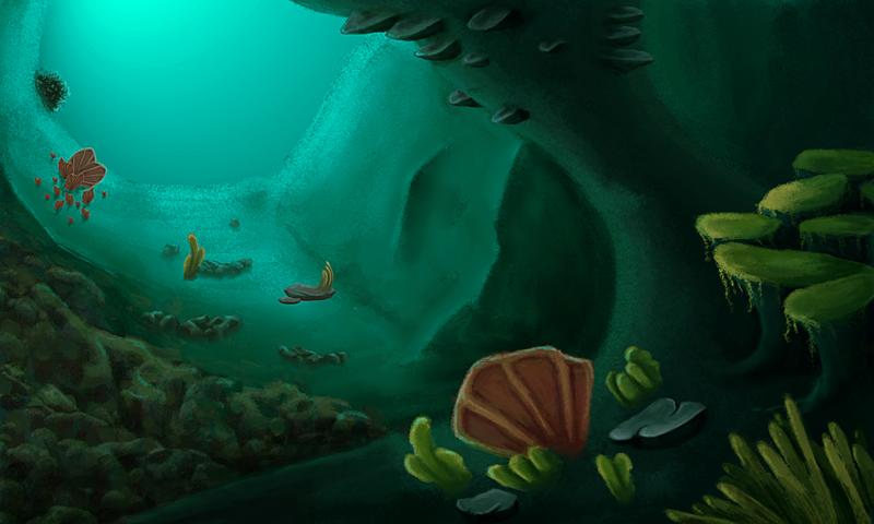 Underwater Cave by Drakashi