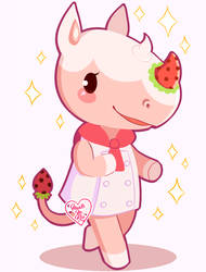 Animal Crossing New Leaf: Merengue ~ by Haato-No-Koe