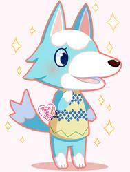 Animal Crossing New Leaf: Skye ~ by Haato-No-Koe