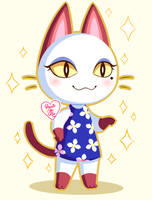 Animal Crossing New Leaf: Olivia ~ by Haato-No-Koe